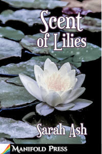 book cover showing water lilies
